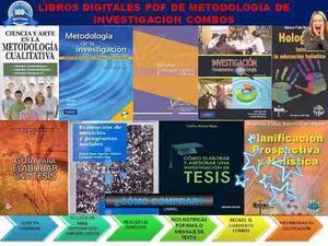 Libros Digitales Pdf De Metodología De Investigación