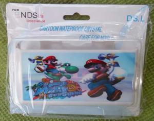Carcasa Plastica Protectora D Mario Bros Para Ds Lite Nueva.