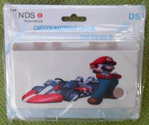 Carcasa Plastica Protectora De Mario Bros Para Dsi Nueva.