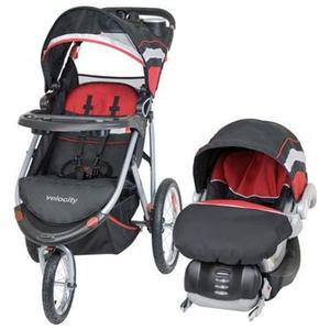 Coche 3 Ruedas Con Porta Bebe Baby Trend Travel System