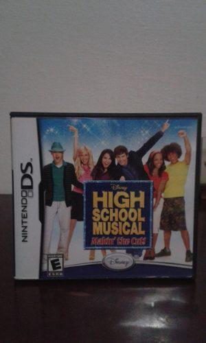 Juego De Nintendo Ds High School Musical, Original