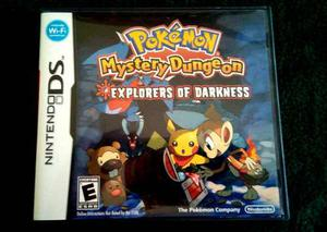Juego Para Ds Pokemon Mystery Dungeon