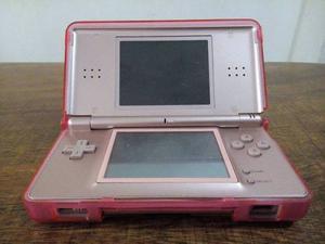 Nintendo Ds Lite Rosado (con Accesorios)