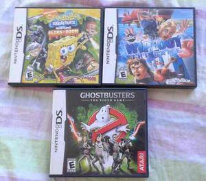 Pack De Juegos Para Ds (los 3 Juegos Al Precio Publicado)