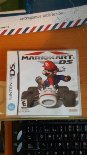 Se Vende Mario Kart Para Ds. Sin Uso