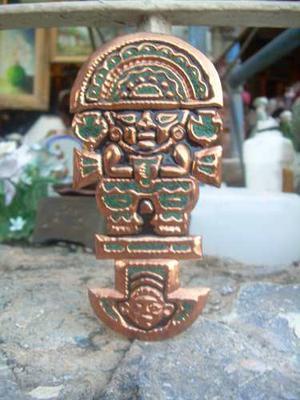 Tumi Ceremonial Inca Azteca Escultura De Arte Del Peru