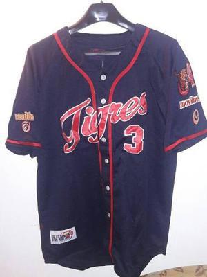 Camisa De Béisbol Lvbp Caballero Tigres De Aragua S