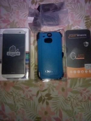 Celular Htc One M8 16gb. Vidrio Y Forro Seguridad.