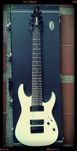 Guitarra Ibanez Rg8 Con Seymour Duncan Distorsión (puente)