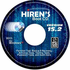 Hiren Boot Cd V.15.2 Herramientas Para Reparar Pc,cd Fisico