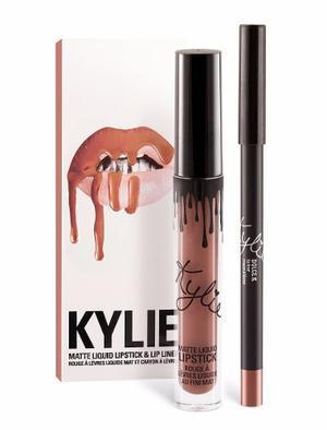 Labial Kylie Liquido Con Delineador Tienda