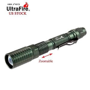 Lt257/linterna Cree Ultrafirire Tactica lm+car+pila