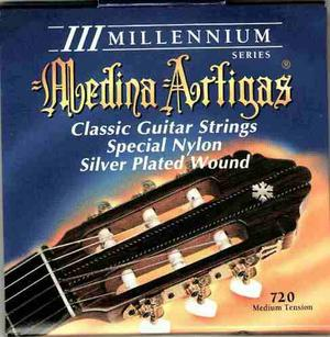 Set De Cuerdas Para Guitarra Clasica Medina Artigas T-media