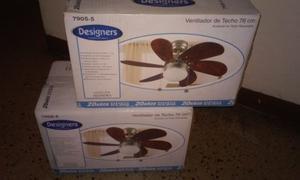 Ventilador De Techo Decorativo Designers