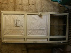 Vendo 6 puertas de romanilla metalicas posot class Puertas metalicas usadas