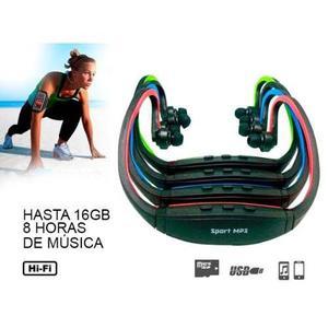 Audífono Deportivo Sport Mp3 Micro Sd Ideal Para Trotar