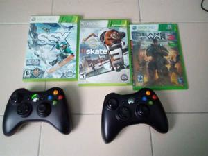 Vendo O Cambio Por Telefono Xbox 360 Slim Con Dos Controles