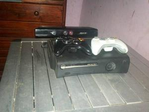 Xbox 360 Elite 250 Gb + 2 Controles + Chip Lt 3.0