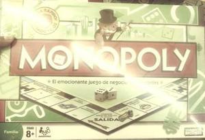 Juego De Mesa Familiar Monopoly Delux Niño +8 Hasbro