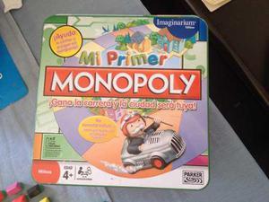 Juego De Mesa Mi Primer Monopoly