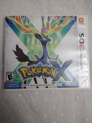 Juego Nintendo 3ds Pokemon X Original En Perfecto Estado
