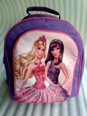 Bolso Escolar De Barbie