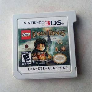 Juegos De Nintendo Ds. El Señor De Los Anillos Y All W