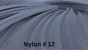 Nylon # 12 Color Negro Por Madeja / Redes-atarraya-calzados