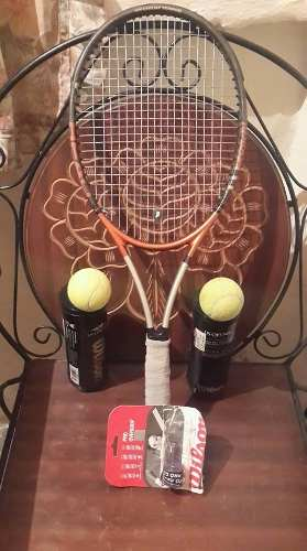 Raqueta De Tenis Wilson Titaniun Head Radical