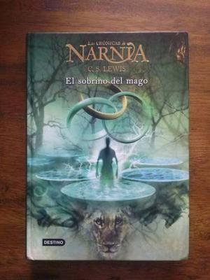 Colección Libros Las Crónicas De Narnia Saga Completa