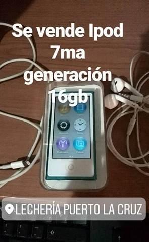 Ipod 7th Generation 16 Gb Like New
