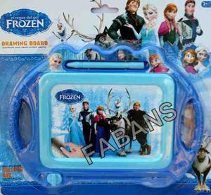 Pizarra Magica Frozen Princesa Juguete Didactico Niña