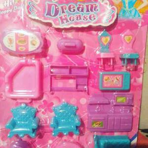 Set De Juguetes De Miniatura Para Niñas