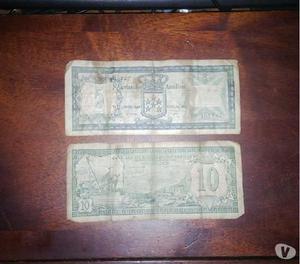 billetes de curazao 1972