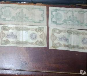 billetes venezolanos 1992-1995-1998
