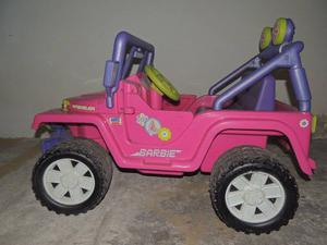 Jeep Barbie Rosado Para Niñas