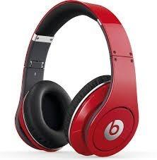 Audifonos Inalambricos Bluetooth Beats Rojos