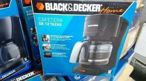 Cafetera Black & Decker 12 Tazas Dlx851b Negra Nueva
