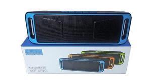 Corneta Portatil A2dp Led Sc208 Bluetooth Aux Fm Modelo