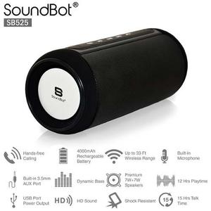 Corneta Portatil Bluetooth 4.0 Soundbot Sb525