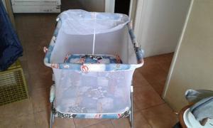 Corral Cuna Para Bebé Con Mosquitero