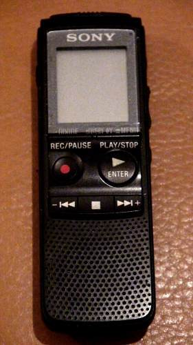 Grabadora De Audio Profesional Sony Digital 288 Horas