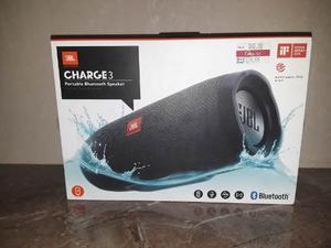 Jbl Original Charge 3 Portable Bluetooth Speaker
