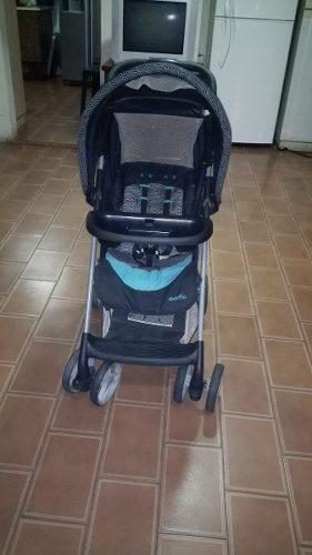 Juego De Cuna Corral, Coche Y Silla De Carro Adaptable Al Co
