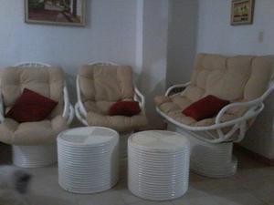 Juego De Muebles De Bambu