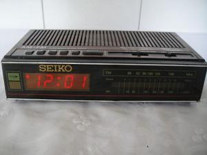Radio Reloj Despertador Fm Am Seiko Para Reparar