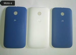 Tapa Trasera Motorola Moto E Nuevas