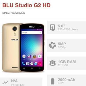 Telefono Blu Studio G2 Hd (Somos Tiendas Fisica)