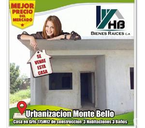 Vendo Casa en Maracaibo en Gris Urbanización Monte Bello