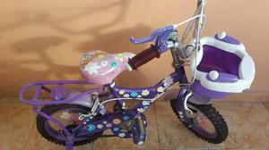 Bicicleta Rin 12 Para Niñas- Como Nueva